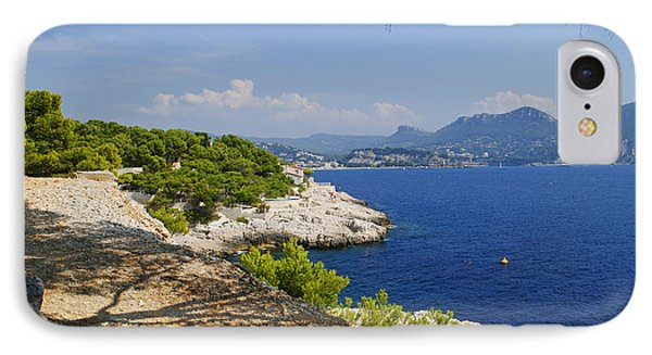 Amazing Coast Of Cassis On French Riviera IPhone Case by Maja Sokolowska
