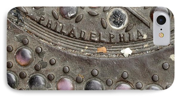 Cast Iron Philadelphia IPhone Case by Christopher Woods