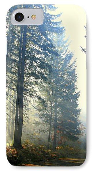 Union Creek Oregon Prescribed Burn IPhone Case by Diane Schuster