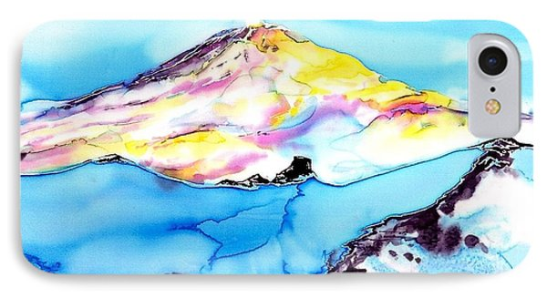 Caste Rock Antarctica Phone Case by Carolyn Doe