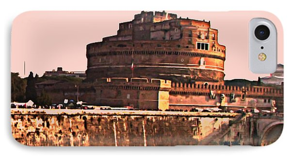 IPhone Case featuring the photograph Castel Sant 'angelo by Brian Reaves