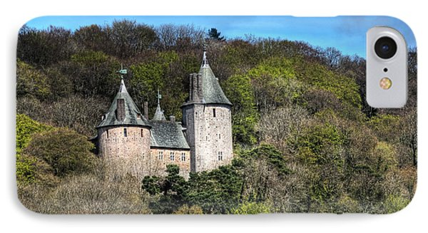 Castell Coch Cardiff Phone Case by Steve Purnell