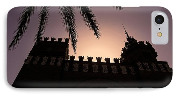 Castell Dels Tres Dragons ... IPhone Case by Juergen Weiss