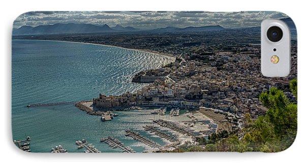 Castellammare Del Golfo IPhone Case by Alan Toepfer