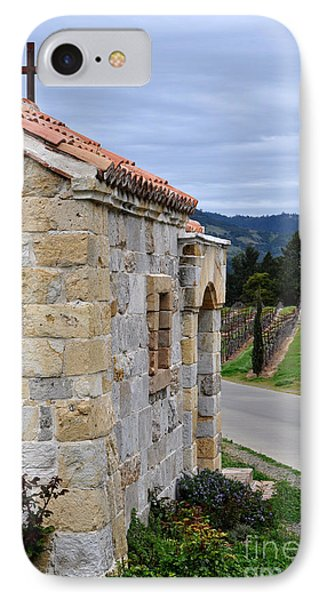 IPhone Case featuring the photograph Castello Di Amorosa by Gina Savage