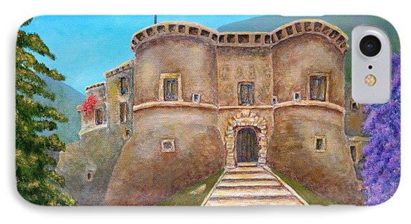 Castello Ducale Di Faicchio Phone Case by Pamela Allegretto