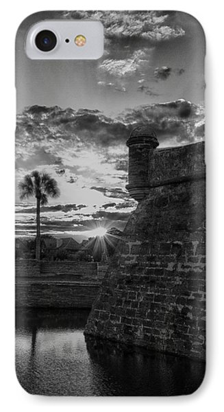 IPhone Case featuring the photograph Castillo De San Marcos by Kathy Ponce
