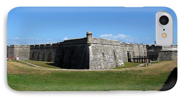 Castillo De San Marcos Phone Case by Keith Stokes