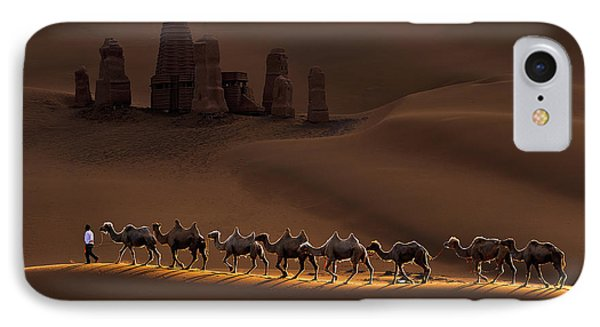 Castle And Camels IPhone Case