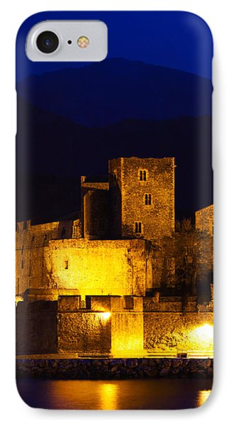Castle At The Waterfront, Chateau IPhone Case by Panoramic Images