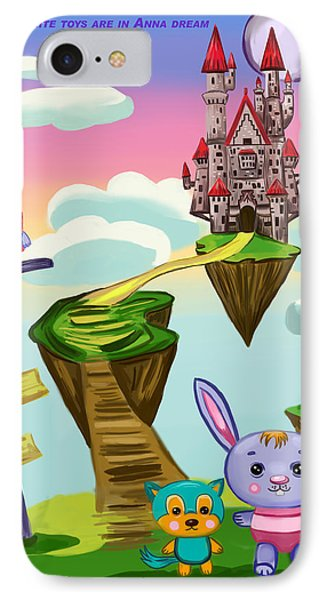 Castle IPhone Case by Bogdan Floridana Oana