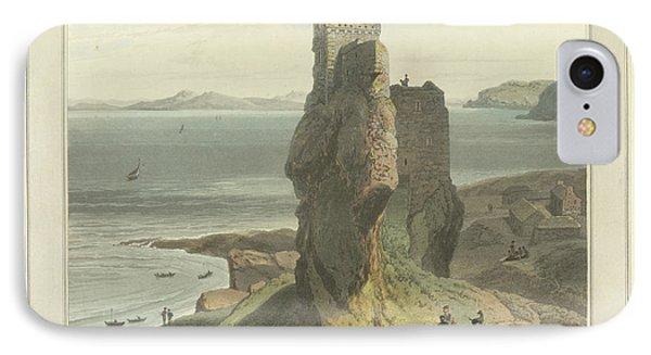 Castle Broichin On The Isle Of Rasay IPhone Case