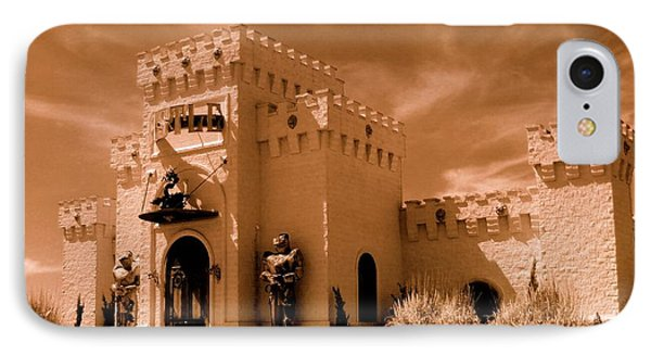 IPhone Case featuring the photograph Castle By The Road by Rodney Lee Williams