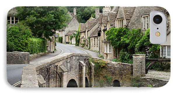Castle Combe Cotswolds Village IPhone Case by IPics Photography
