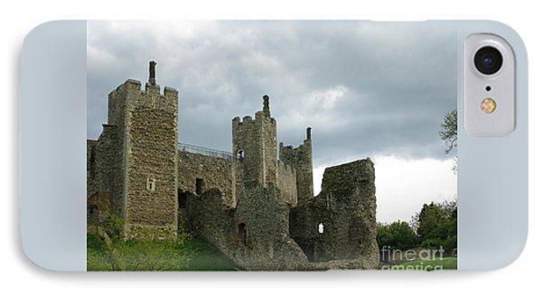 Castle Curtain Wall IPhone Case by Ann Horn