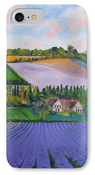 Castle Farm Shoreham Kent Lavender Fields England IPhone Case