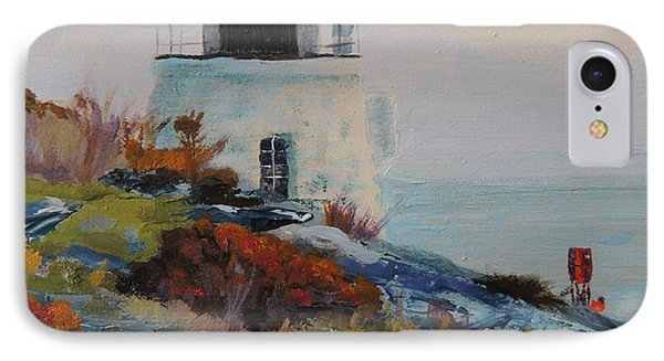 Castle Hill Lighthouse Newport Ri Phone Case by Patty Kay Hall