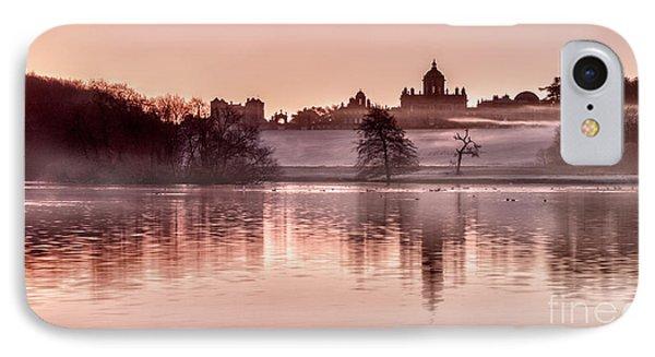 Castle Howard Dawn Phone Case by Janet Burdon