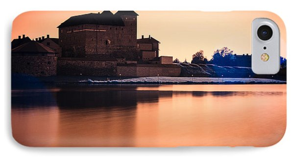 Castle In Artistic Infrared Image IPhone Case
