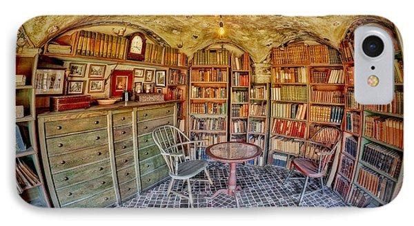 Castle Map Room Phone Case by Susan Candelario