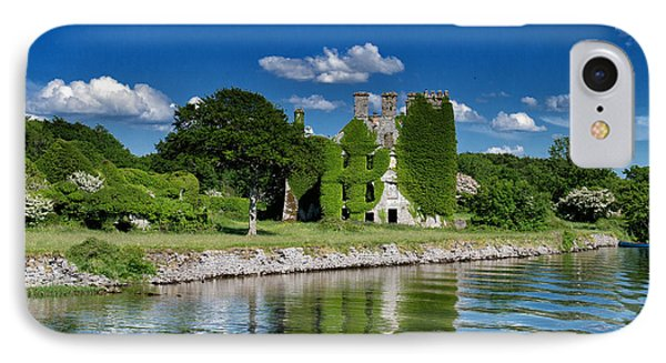 Castle Menlo  IPhone Case by Juergen Klust