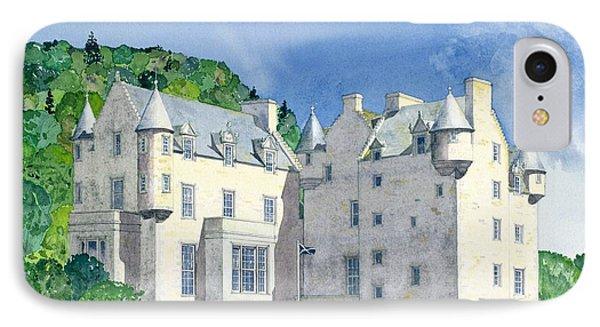 Castle Menzies IPhone Case by David Herbert