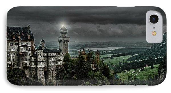 Castle Neuschwanstein II IPhone Case by Patrick Boening