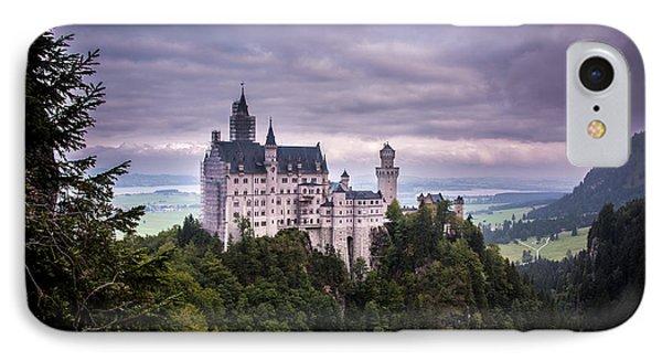 Castle Neuschwanstein IPhone Case by Patrick Boening