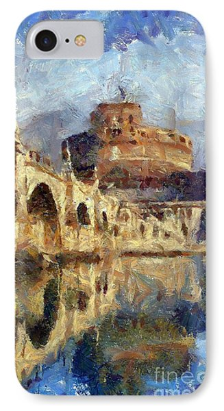Castle Of The Holy Angel IPhone Case by Dragica  Micki Fortuna