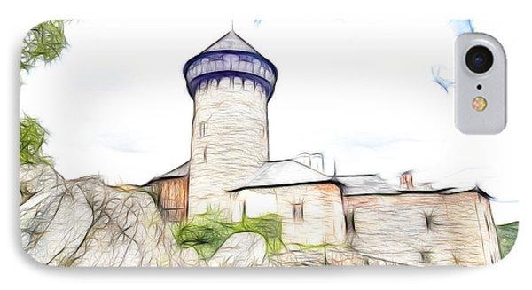 castle of the holy order - Sovinec castle Phone Case by Michal Boubin
