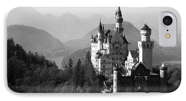 Castle On A Hill, Neuschwanstein IPhone Case