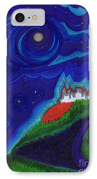 Castle On The Cliff By Jrr IPhone Case by First Star Art