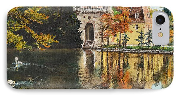 Castle On The Water IPhone Case by Mary Ellen Anderson