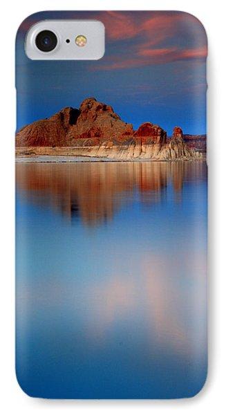 Castle Rock Reflections IPhone Case by Eric Foltz
