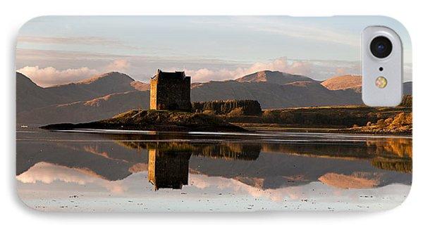 Castle Stalker - Sunset IPhone Case