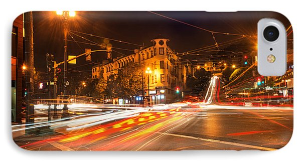 Castro District IPhone Case by Leland D Howard