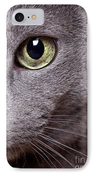 Cat Eye IPhone Case by Nailia Schwarz