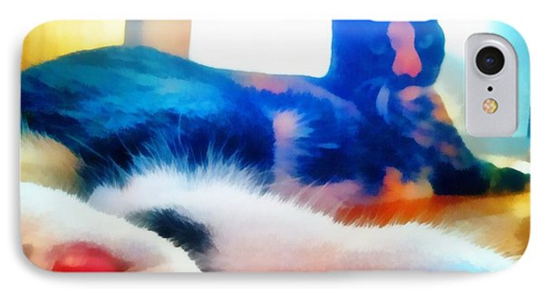 Cat Feet IPhone Case by Derek Gedney