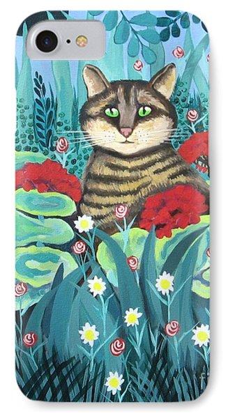 Cat Hiding In The Rainforest IPhone Case