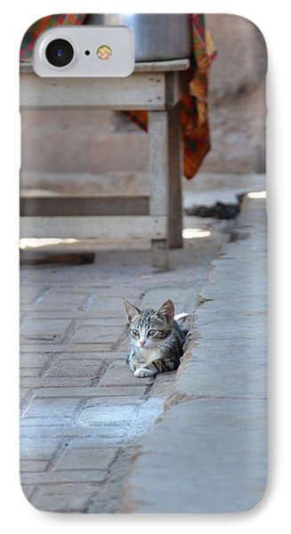 IPhone Case featuring the photograph Cat Nap II by Ronda Broatch