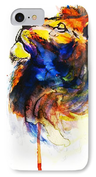 Cat Of A Different Color IPhone Case by Howard Barry