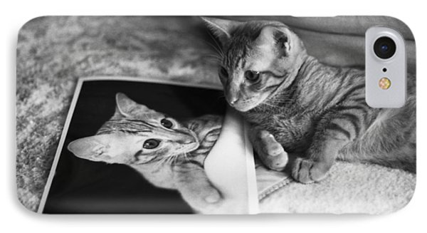 Cat Vanity IPhone Case by Ray Congrove