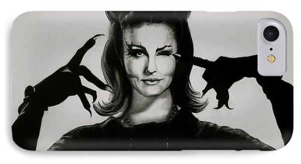 Cat Woman IPhone Case by Michelle Weadock