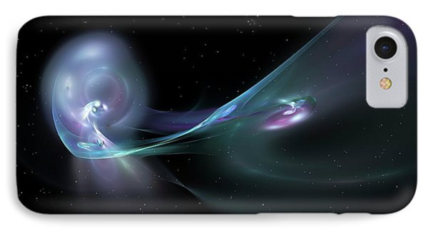 Cataclysmic Galaxies IPhone Case by Equinox Graphics