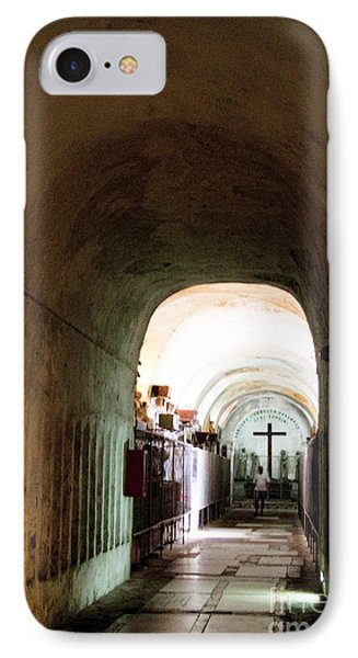 Catacombs In Palermo Phone Case by David Smith