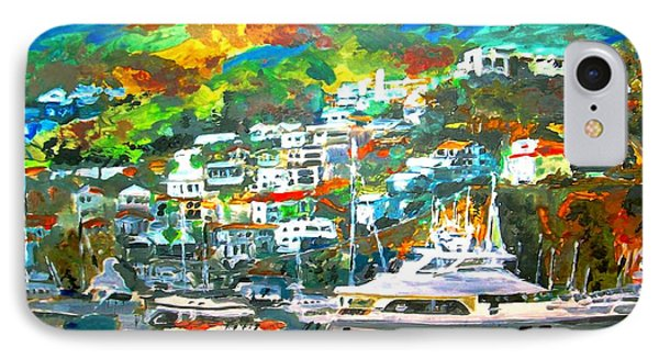 Catalina Island 3 IPhone Case by Rom Galicia