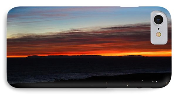 Catalina Island Sunset Phone Case by Penny Lisowski