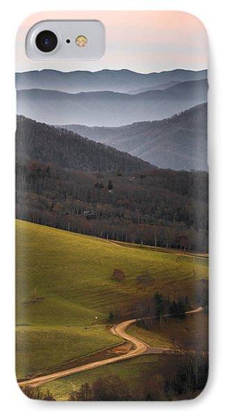 Cataloochee Valley Sunrise IPhone Case