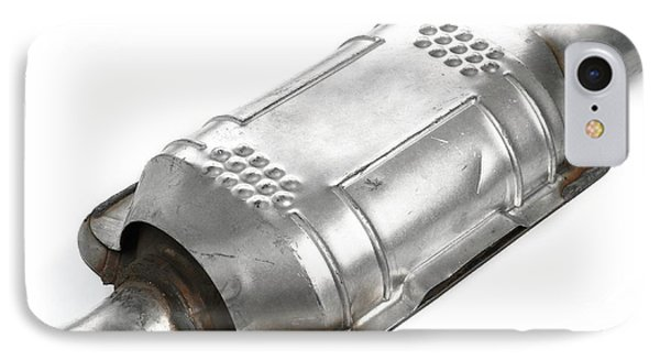Catalytic Converter IPhone Case by Science Photo Library
