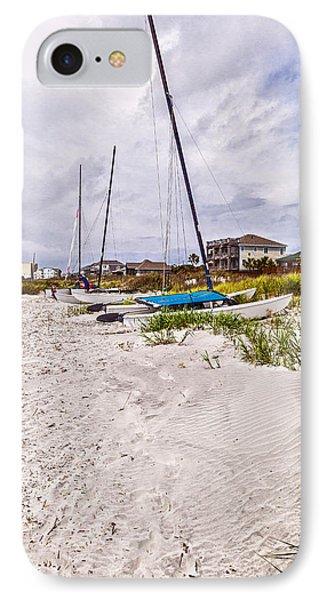IPhone Case featuring the photograph Catamaran by Sennie Pierson